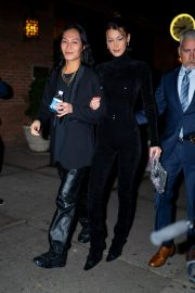 Bella Hadid and Alexander Wang arrives Cipriani in New York City 2019/11/04 9