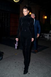 Bella Hadid and Alexander Wang arrives Cipriani in New York City 2019/11/04 12