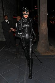 Bella Hadid leaves Kendall Jenner's 24th Birthday Party in Cat Woman Outfit in West Hollywood 2019/11/01 1