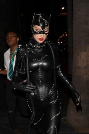 Bella Hadid leaves Kendall Jenner's 24th Birthday Party in Cat Woman Outfit in West Hollywood 2019/11/01 3