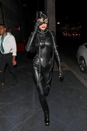 Bella Hadid leaves Kendall Jenner's 24th Birthday Party in Cat Woman Outfit in West Hollywood 2019/11/01 4