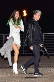 Bella Thorne flashes her legs with Benjamin Mascolo after a dinner date night out at Nobu in Malibu 2019/11/27 8