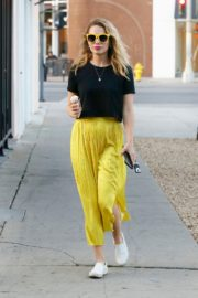 Bethany Joy Lenz in Black Top and Yellow Bottom Out in Los Angeles 2019/11/22 4