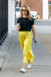 Bethany Joy Lenz in Black Top and Yellow Bottom Out in Los Angeles 2019/11/22 5