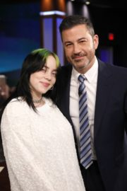 Billie Eilish attends attends Jimmy Kimmel Live! in Hollywood 2019/11/21 1