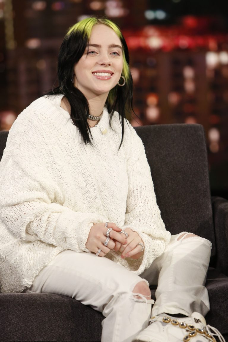 Billie Eilish attends attends Jimmy Kimmel Live! in Hollywood 2019/11/21 3