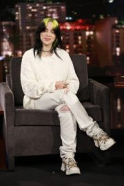 Billie Eilish attends attends Jimmy Kimmel Live! in Hollywood 2019/11/21 4