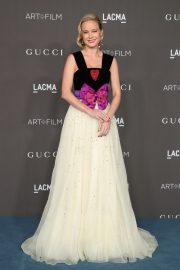 Brie Larson attends ACMA Art + Film Gala Honoring Betye Saar And Alfonso Cuaron Presented By Gucci 2019/11/02 9