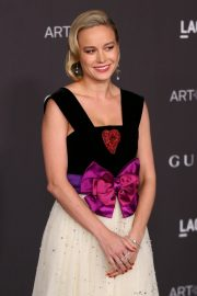 Brie Larson attends ACMA Art + Film Gala Honoring Betye Saar And Alfonso Cuaron Presented By Gucci 2019/11/02 11