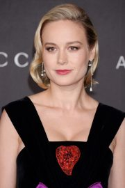 Brie Larson attends ACMA Art + Film Gala Honoring Betye Saar And Alfonso Cuaron Presented By Gucci 2019/11/02 13