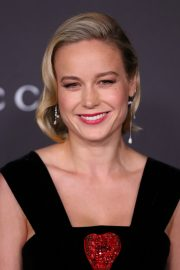 Brie Larson attends ACMA Art + Film Gala Honoring Betye Saar And Alfonso Cuaron Presented By Gucci 2019/11/02 14