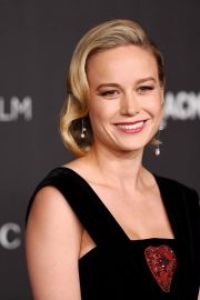 Brie Larson attends ACMA Art + Film Gala Honoring Betye Saar And Alfonso Cuaron Presented By Gucci 2019/11/02 16