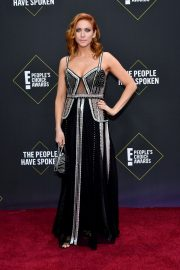 Brittany Snow arrives 2019 E! People's Choice Awards at the Barker Hangar in Santa Monica 2019/11/10 9