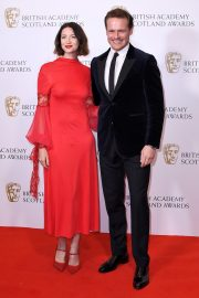 Caitriona Balfe and Sam Heughan attends the BAFTA in Scotland 2019/11/03 1