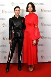 Caitriona Balfe and Sam Heughan attends the BAFTA in Scotland 2019/11/03 4