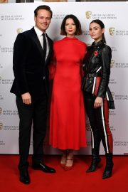 Caitriona Balfe and Sam Heughan attends the BAFTA in Scotland 2019/11/03 5
