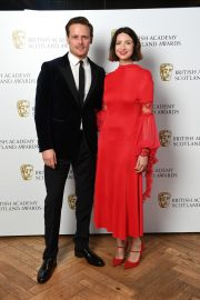 Caitriona Balfe and Sam Heughan attends the BAFTA in Scotland 2019/11/03 6