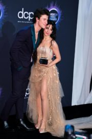 Camila Cabello and Shawn Mendes at 2019 American Music Awards in Los Angeles 2019/11/24 2