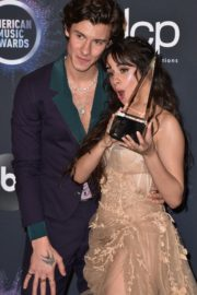 Camila Cabello and Shawn Mendes at 2019 American Music Awards in Los Angeles 2019/11/24 6