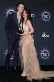 Camila Cabello and Shawn Mendes at 2019 American Music Awards in Los Angeles 2019/11/24 11