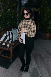 Camila Cabello seen in checked top and tights Out in West Hollywood 2019/11/06 8