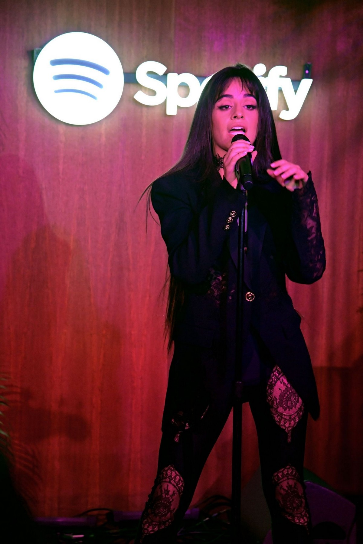 Camila Cabello visits A Celebration for Artists Hosted by Spotify in West Hollywood 2019/11/20 4