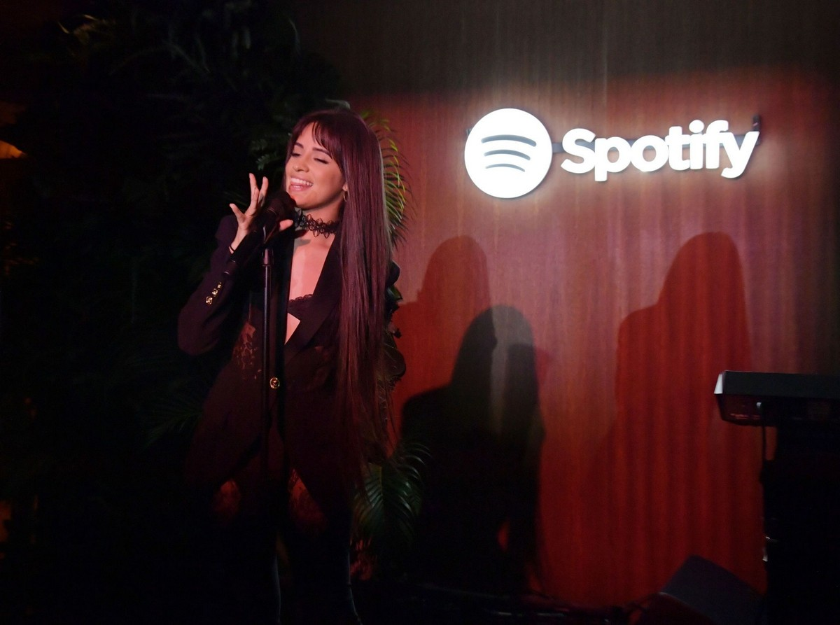 Camila Cabello visits A Celebration for Artists Hosted by Spotify in West Hollywood 2019/11/20 5