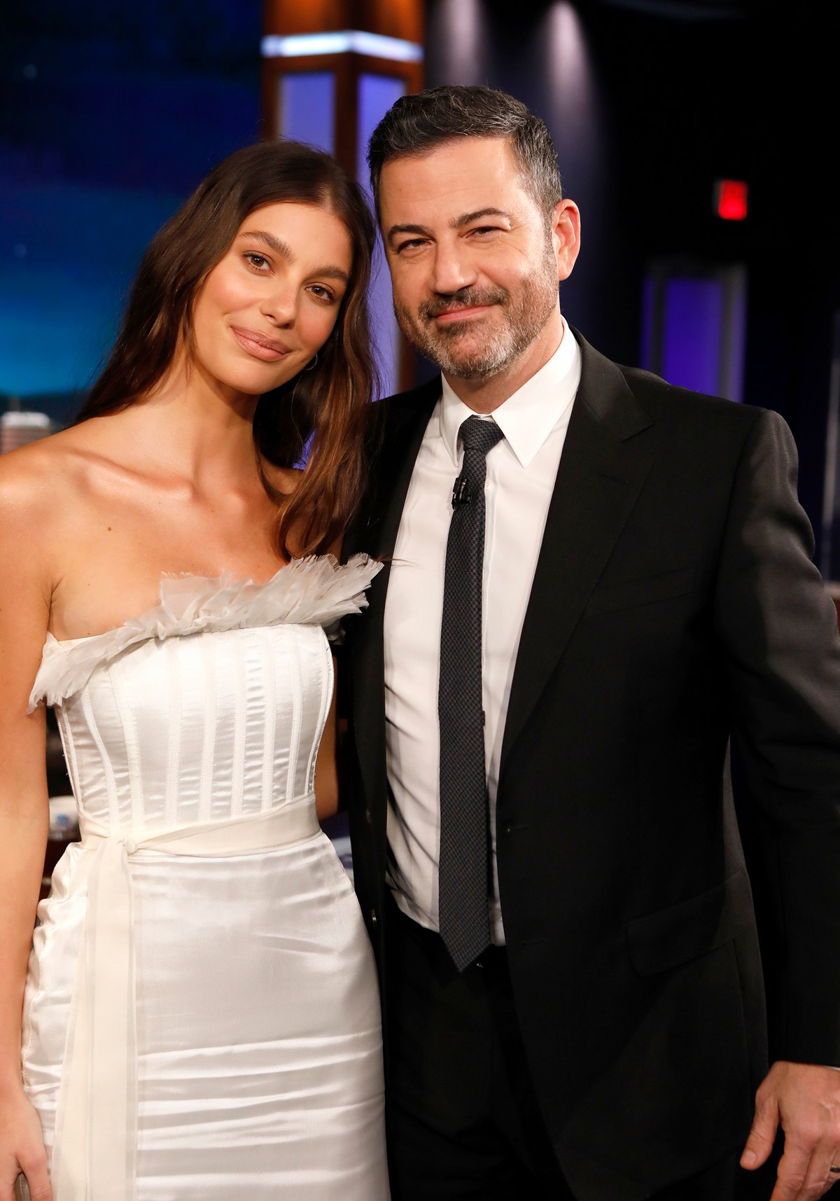 Camila Morrone attends Jimmy Kimmel Live! in Hollywood 2019/11/15 3