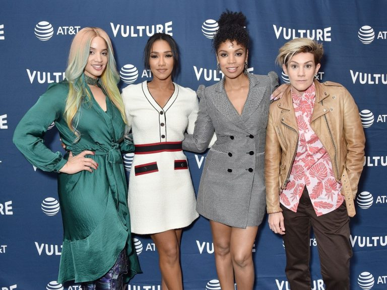 Candice Patton, Dascha Polanco, Susan Kelechi Watson and Cameron Esposito attend Vulture Festival in Los Angeles 2019/11/09 4