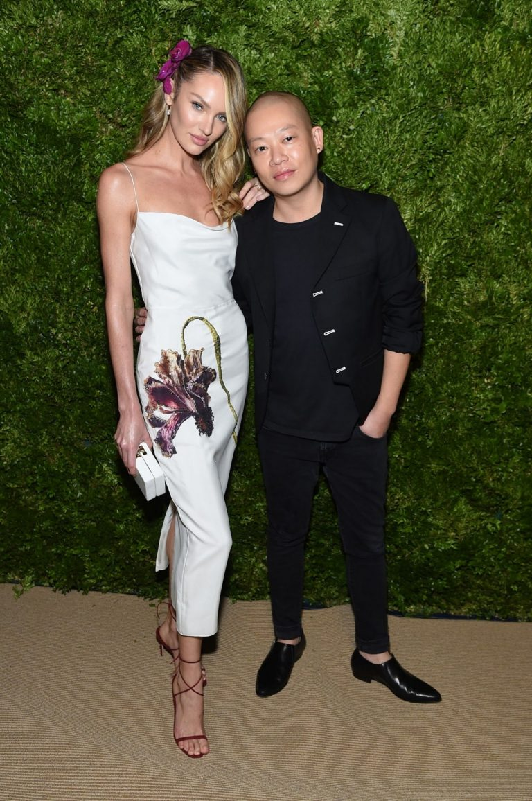 Candice Swanepoel and Jason Wu at CFDA & Vogue Fashion Fund Awards in New York 2019/11/04 2
