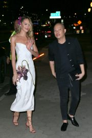 Candice Swanepoel and Jason Wu Outside Cipriani in New York City 2019/11/04 4