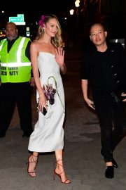 Candice Swanepoel and Jason Wu seen night out Cipriani in New York City 2019/11/04 2