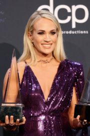 Carrie Underwood attends 2019 American Music Awards at Microsoft Theater in Los Angeles 2019/11/24 9