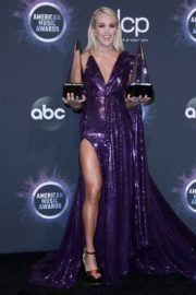 Carrie Underwood attends 2019 American Music Awards at Microsoft Theater in Los Angeles 2019/11/24 11