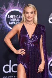 Carrie Underwood attends 2019 American Music Awards at Microsoft Theater in Los Angeles 2019/11/24 12
