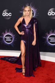 Carrie Underwood attends 2019 American Music Awards at Microsoft Theater in Los Angeles 2019/11/24 13