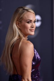 Carrie Underwood attends 2019 American Music Awards at Microsoft Theater in Los Angeles 2019/11/24 16