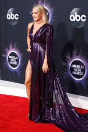 Carrie Underwood attends 2019 American Music Awards at Microsoft Theater in Los Angeles 2019/11/24 17