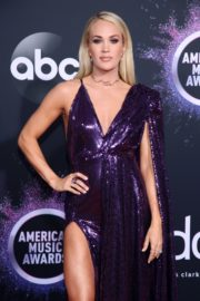 Carrie Underwood attends 2019 American Music Awards at Microsoft Theater in Los Angeles 2019/11/24 18