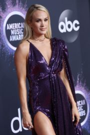 Carrie Underwood attends 2019 American Music Awards at Microsoft Theater in Los Angeles 2019/11/24 23