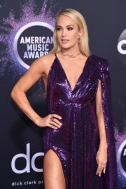 Carrie Underwood attends 2019 American Music Awards at Microsoft Theater in Los Angeles 2019/11/24 26