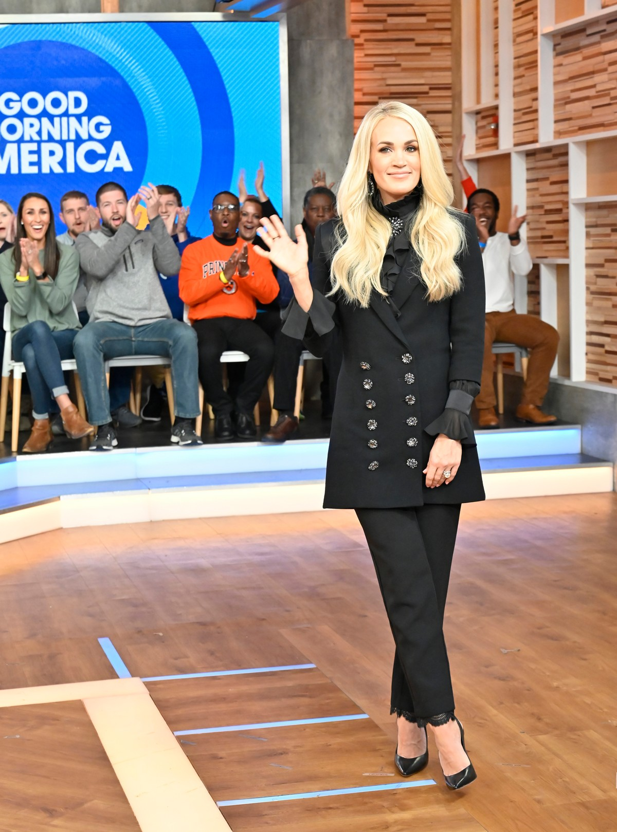 Carrie Underwood attends Good Morning America in New York 2019/11/11 2