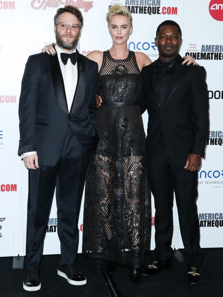 Charlize Theron, Seth Rogen and David Oyelowo attends 33rd American Cinematheque Award Presentation in Beverly Hills 2019/11/08 1