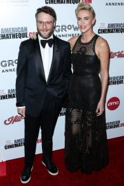 Charlize Theron, Seth Rogen and David Oyelowo attends 33rd American Cinematheque Award Presentation in Beverly Hills 2019/11/08 2