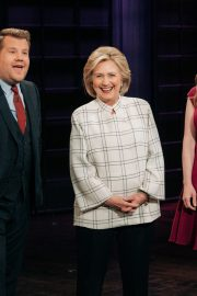 Chelsea Clinton attends The Late Late Show with James Corden in Hollywood 2019/11/05 3
