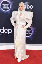 Christina Aguilera attends 2019 American Music Awards at Microsoft Theater in Los Angeles 2019/11/24 1