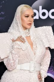 Christina Aguilera attends 2019 American Music Awards at Microsoft Theater in Los Angeles 2019/11/24 2