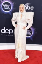 Christina Aguilera attends 2019 American Music Awards at Microsoft Theater in Los Angeles 2019/11/24 3