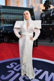 Christina Aguilera attends 2019 American Music Awards at Microsoft Theater in Los Angeles 2019/11/24 4