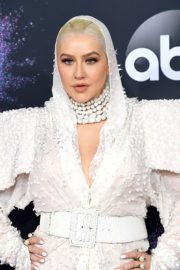 Christina Aguilera attends 2019 American Music Awards at Microsoft Theater in Los Angeles 2019/11/24 5